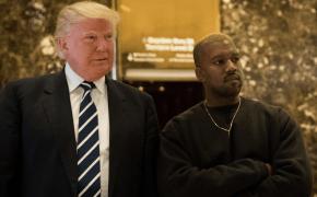 Kanye West se encontra Donald Trump em Nova York