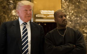Kanye West divulga revista autografada que ganhou do Donald Trump
