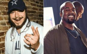 Novo som colaborativo do Post Malone com Kanye West está a caminho!