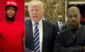 YG expressa fúria por encontro do Kanye West com Donald Trump
