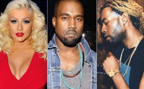 Kanye West e PARTYNEXTDOOR trabalharam no novo álbum da Christina Aguilera