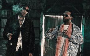 Juicy J e Wiz Khalifa estiveram gravando novo clipe juntos!