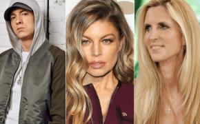 """Fergie e Ann Coulter respondem ataques feitos por Eminem em """"No Favors"""""""