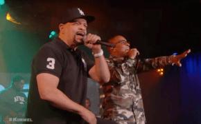"""Ice T e T.I. performam mash-up de """"O G Original Gangster"""" e """"Bring Em Out"""" no programa do Jimmy Kimmel"""