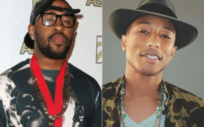 Mike WiLL Made-It e Pharrell estiveram juntos no estúdio gravando novidade!