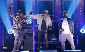 "Rick Ross canta ""Trap Trap Trap"" com Young Thug e Wale no Jimmy Fallon!"