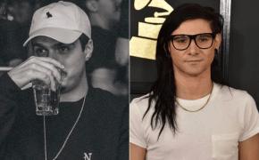 DJ Cidy do Costa Gold esteve se conectando com Skrillex