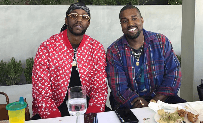 2 Chainz demonstra apoio ao anuncio do Kanye West de candidatura à ...