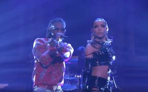 """Tinashe e Offset performam """"No Drama"""" no The Tonight Show"""