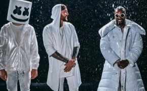 "Marshmello e Juicy J libera clipe de ""You Can Cry"" com James Arthur"