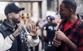 """Nicky Jam, Will Smith e Era Istrefi liberam clipe de """"Live It Up"""" com presença especial do Ronaldinho Gaúcho"""