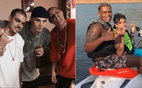 Costa Gold gravou novo material com Mc Kevin e Mc Ig (4M Gang)