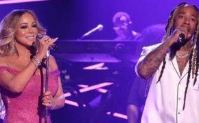"Mariah Carey e Ty Dolla $ign cantam ""The Distance"" no programa do Jimmy Fallon"