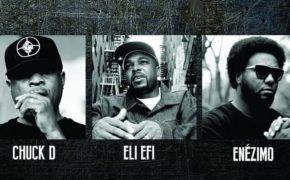 """Chuck D, Eli Eli e Enézimo unirão forças em novo single """"Justiça"""" do DJ Nato PK"""