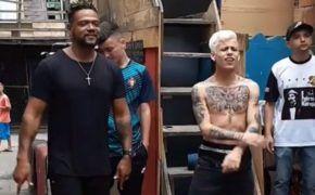 Edi Rock e Mc Pedrinho gravaram novo clipe juntos