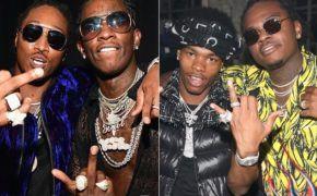 """Novo projeto """"Super Slimey 2"""" do Young Thug, Future, Lil Baby e Gunna é anunciado oficialmente pela YSL"""