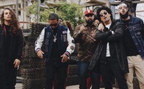 "Devastoprod gravou clipe de novo single ""Estresse"" com Coruja BC1, Rashid, Vitão e Junior Dread"