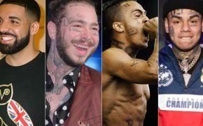 Lista das 50 músicas com mais streams nos U.S.A em 2018 é divulgada