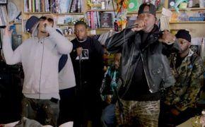 Wu-Tang Clan performa medley com clássicos no Tiny Desk Concert
