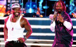 Snoop Dogg e 50 Cent se reencontram em icônica performance em Nova York; confira