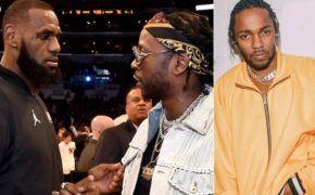 LeBron James divulga vídeo ouvindo nova música do 2 Chainz e Kendrick Lamar
