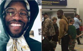 Frank Ocean foi visto desembarcando em aeroporto no Rio de Janeiro, segundo reportes