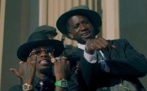 """Offset e Gucci Mane são gangstas old school assaltando banco no clipe de """"Quarter Milli""""; assista"""