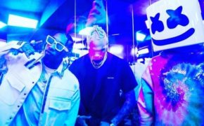 Tyga, Chris Brown e Marshmello gravaram novo videoclipe juntos
