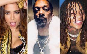"""Novo álbum """"Kisses"""" da Anitta contará com Snoop Dogg, Swae Lee, Prince Royce, Papatinho e mais"""