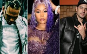 "Chris Brown anuncia o videoclipe de ""Wobble Up"" com Nicki Minaj e G-Eazy para segunda-feira"