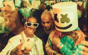 "Marshmello traz Tyga e Chris Brown para seu novo single ""Light It Up"""
