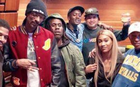 Kid Cudi, Pharrell, Snoop Dogg, Buddy, Chad Hugo, Bia e Kentz Jamz estiveram juntos no estúdio