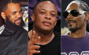The Game, Dr. Dre e Snoop Dogg estiveram trabalhando juntos no estúdio