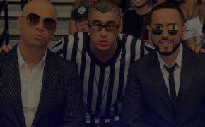 "Wisin & Yandel divulgam o videoclipe de ""Dame Algo"" com Bad Bunny"