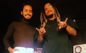 Kafé e Luccas Carlos estiveram trabalhando juntos no estúdio