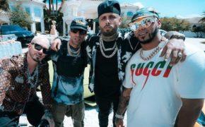 "Nicky Jam divulga novo single ""Ven Y Hazlo Tú"" com J Balvin, Anuel AA e Arcángel"