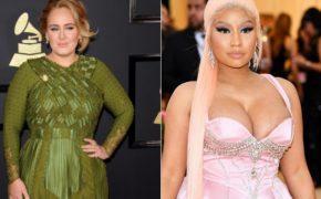 """Adele canta verso de Nicki Minaj em """"Monster"""" durante festa em Los Angeles"""