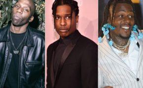 "Ouça ""ZUSHI"", faixa inédita do Babyfather com A$AP Rocky e Sauce Walka"