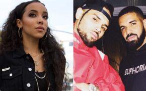 """Tinashe divulga remix do single """"No Guidance"""" do Chris Brown com Drake"""