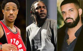 DeMar DeRozan, atleta da NBA, diz que tem uma mixtape secreta e que Kendrick e Drake curtiram seus sons