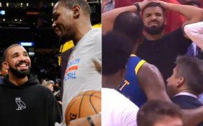 Drake se solidariza com Kevin Durant após lesão do atleta nas finais da NBA