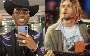 """Lil Nas X recebeu autorização da filha de Kurt Cobain para samplear Nirvana em seu novo single """"Panini"""""""