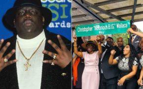 HISTÓRICO! Notorious B.I.G tem seu nome de batismo imortalizado em rua do Brooklyn