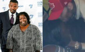 Chris Brown traz irmã com síndrome de down do Jamie Foxx para se divertir com ele no estúdio