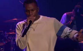 """Denzel Curry faz sua primeira aparição na televisão no programa The Tonight Show cantando as músicas """"RICKY"""" e """"WISH"""""""