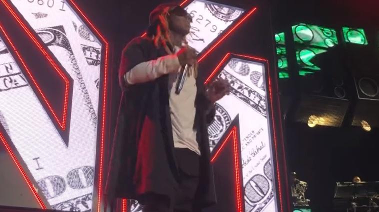 Lil Wayne abandona o palco após 20 minutos de show e indica