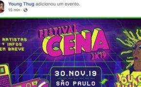 Young Thug confirma OFICIALMENTE vinda ao Brasil para show no Festival Cena 2K19
