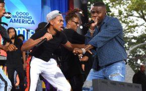 "Chance The Rapper performa ""Hot Shower"" com DaBaby e MadeinTYO no Good Morning America"