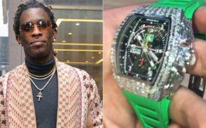 Young Thug compra novo relógio Richard Mille cravejado de diamantes