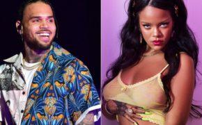 Chris Brown comenta nova foto provocante da Rihanna de lingerie